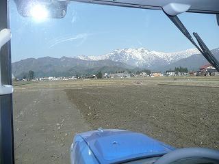 車内からの風景
