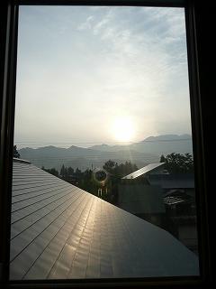 小窓からの眺め