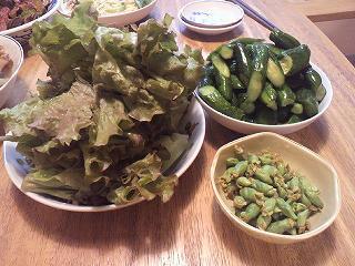 緑3皿盛り