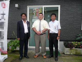 関ノ戸親方と井口実行委員長