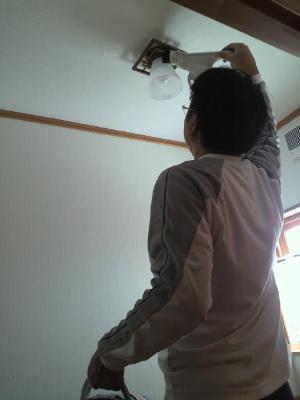 電気の掃除
