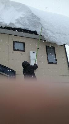 雪庇落とし