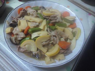筍がメインの煮物