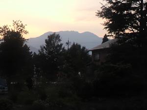 今朝の八海山①