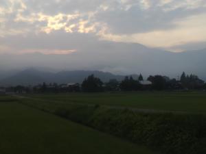 今朝の八海山②
