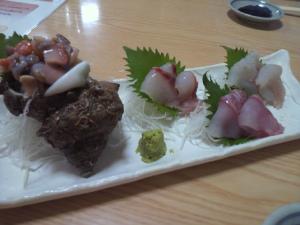 白魚とサザエ