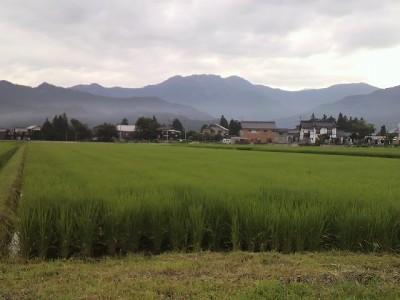 我が田と八海山