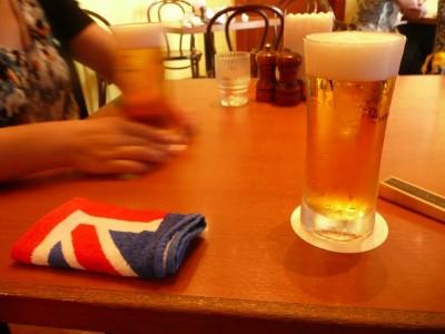 またもビール