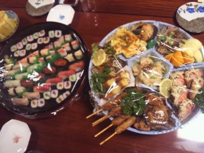 清鱗さんの寿司と盛込み