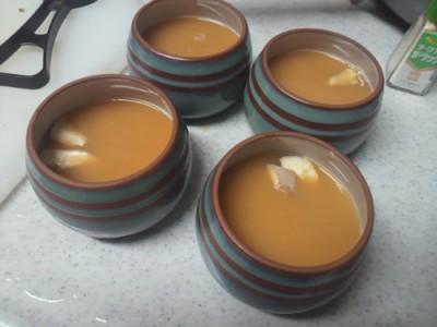 茶碗蒸しスタンバイ