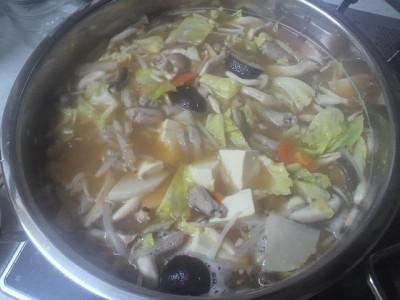 モツ鍋は体が暖まる