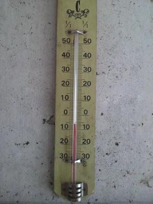 今朝は-6℃