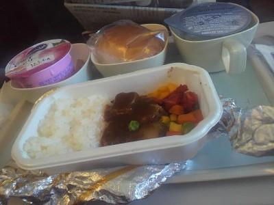 機内の軽食