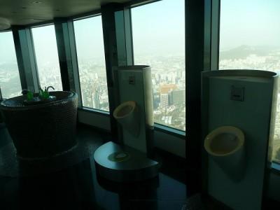 展望台のトイレ