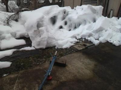 井戸水で消雪