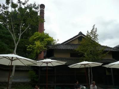 酒蔵の煙突