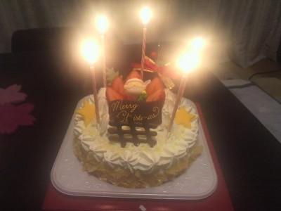 玉屋さんのケーキ