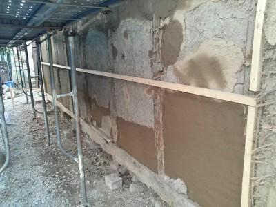 内壁補修塗り