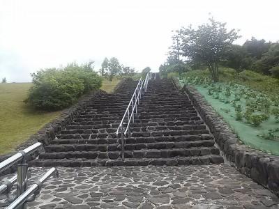 出だしの上り階段