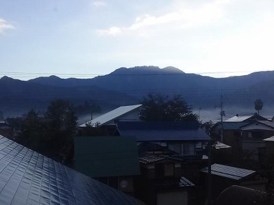 今朝の八海山