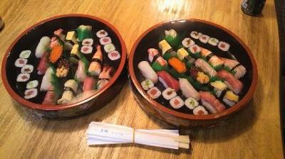 清鱗のお寿司