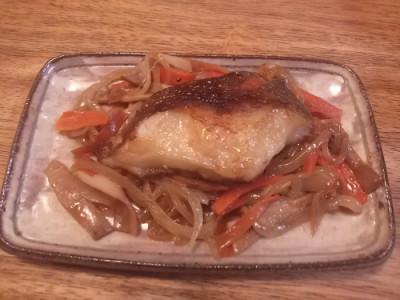 魚はカレイ