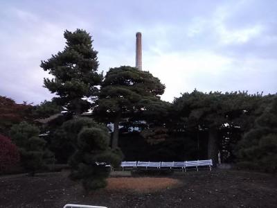 大きな煙突