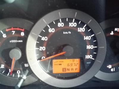 車での外気温