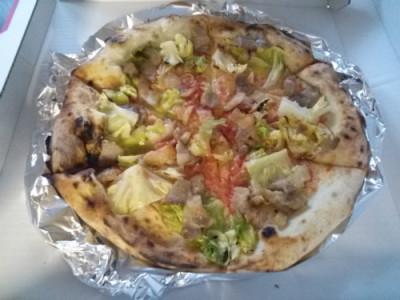小玉屋さんのピザ