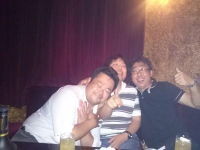 酔っ払い三人衆